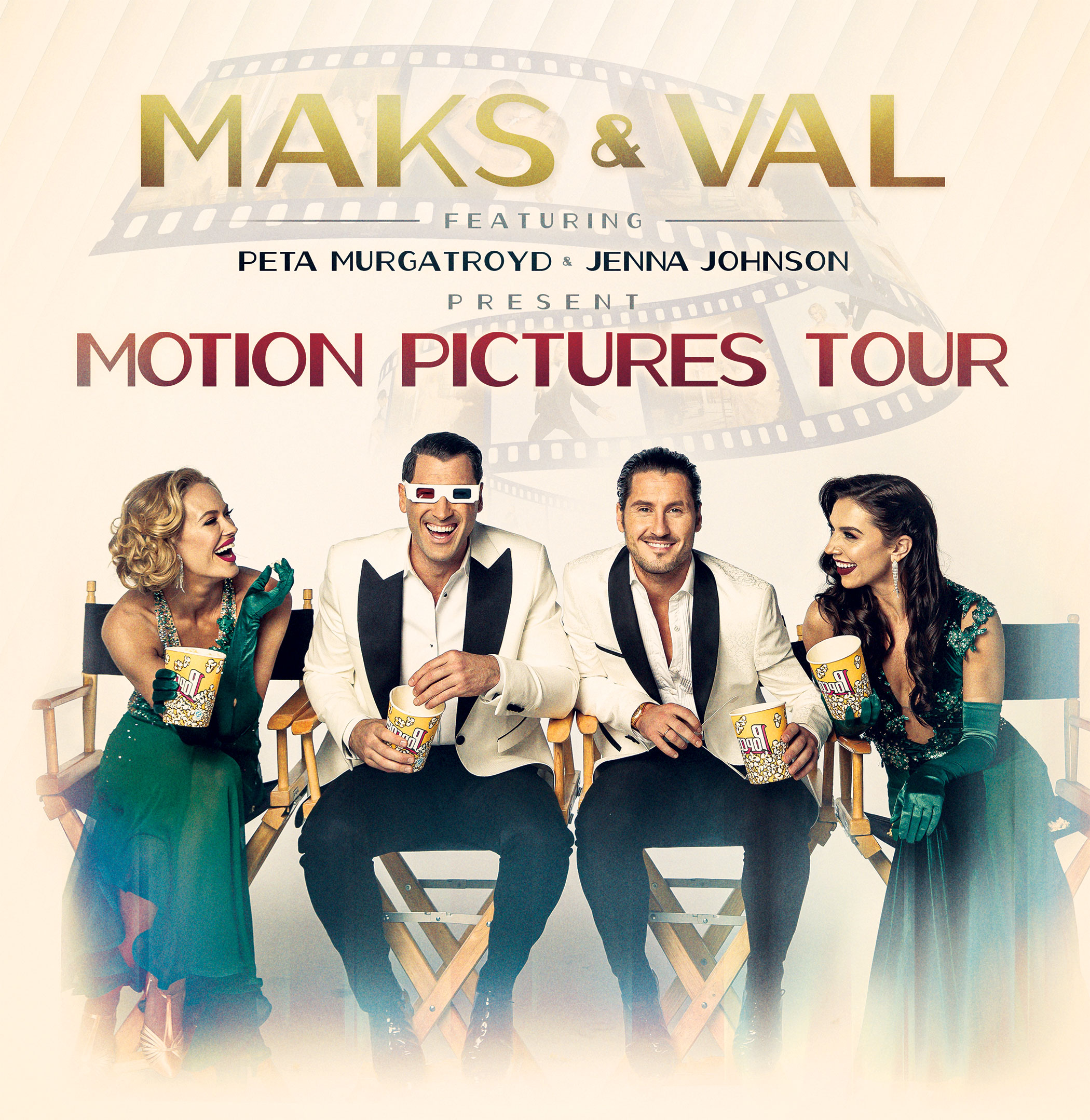 Maks & Val feat. Peta Murgatroyd and Jenna Johnson - The Motion Pictures Tour