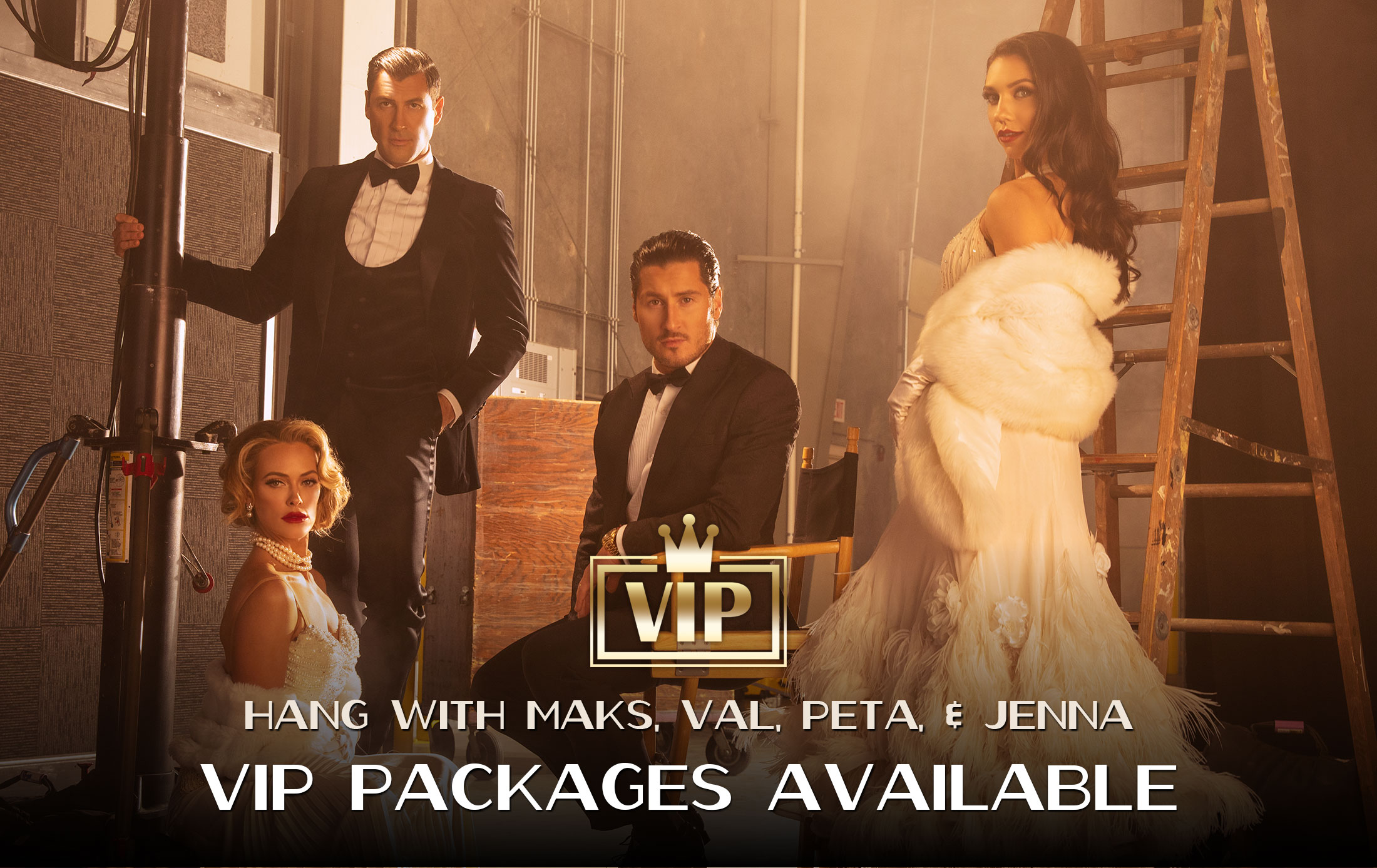 Maks & Val feat. Peta Murgatroyd and Jenna Johnson - The Motion Pictures Tour (VIP TOUR PACKAGES)